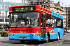 507 X507 WRG (Cumberland Patriot) Tags: go ahead goahead gonorthern gowear gonortheast northern general north east buses dennis dart slf super low floor bus plaxton mini pointer ii mpd 507 x507wrg newcastle upon tyne and wear pte passenger transport executive neville street 10