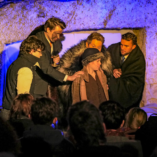 Openluchttheater Valkenburg Rondom Drie Koningen Kerst 17-18 kl Jos Göritzer 019