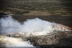 Fumaroles in the Kupaianaha Vent (wyojones) Tags: hawaiivolcanoesnationalpark hawaii bigisland maunaloa pu'u'ō'ō kīlaueavolcanoseastriftzone kilauea smoke volcanology volcano lavaflow lava basalt geology volcanicvents kupaianahavent fumaroles wyojones np