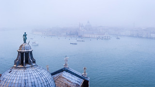 watching Venice in the mist