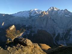 Pordoi Pass (Aleksandr Zykov) Tags: pordoipass italy tyrol alps mountains trentino dolomites hiking veneto marmolada sunset
