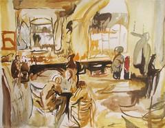 Apuntes en el interior de una taberna (http://oba-k3.wixsite.com/davidsalguero) Tags: art arte abstract abstracto acuarela watercolor pintura painting sketch esbozo boceto