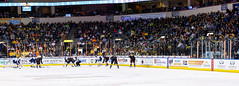 """Kansas City Mavericks vs. Toledo Walleye, January 20, 2018, Silverstein Eye Centers Arena, Independence, Missouri.  Photo: © John Howe / Howe Creative Photography, all rights reserved 2018. • <a style=""""font-size:0.8em;"""" href=""""http://www.flickr.com/photos/134016632@N02/25966336108/"""" target=""""_blank"""">View on Flickr</a>"""