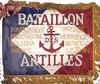 Fanion du Bataillon des Antilles (memoiredfl) Tags: 21egadca dissidentsdesantilles fta fanions