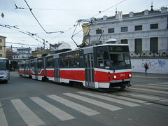 Brno tram No. 1714 (johnzebedee) Tags: tram transport vehicle publictransport brno czechrepublic johnzebedee