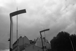 Eclairage public à Villeurbanne