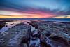 La Jolla, California (mikev1) Tags: landscape ocean sea sunset rocks california sandiego lajolla