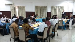 Participants at the ELD Kick-off workshop for the project Economics of Land Degradation in Ghana