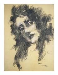 P1017799 - Copy (Gasheh) Tags: art painting drawing sketch portrait girl charcoal gasheh 2018