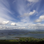 View of Clew Bay from  Croagh Patrick County Mayo Ireland thumbnail