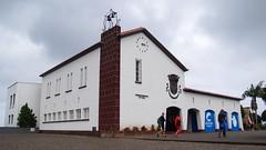 City Hall in Santana (Steenjep) Tags: madeira portugal ferie holiday urlaub santana house home street road flower building