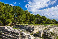 Ara di Ierone (fede_gen88) Tags: siracusa syracuse italia italy sicilia sicily parcoarcheologico neapolis archeological site area park ruins nikon d7200