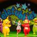 Teletubbies Live - Tinky Winky, Laa Laa, Sam (Naomi Slater) Po and Dipsy (c) Dan Tsantilis