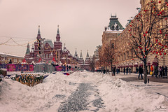 Red Square (Tony_Brasier) Tags: icecold red square moscow museum sigma shops shoppers snow road nikond7200 sky trees fun location lovely people peacefull photos