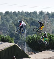 BMX: riders with lion hearts! (2/2) (PURIFM) Tags: bmx bycicle bicycle bmcrace emotion spectacular sport competition