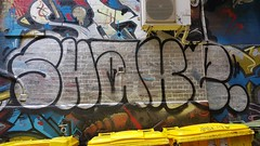 Shake... (colourourcity) Tags: graffiti streetart streetartnow streetartaustralia streetartmelbourne burncity melbourne colourorucityburncity awesome nofilters original colourourcity shake sh1 shaker ugk sas tsf chromie