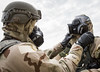 Survive & operate - Gear up (sfkjr) Tags: eglin airman airforce 96 florida test testwing 33rd fighter aircraft airforcebase 53rd developmental operational weapons readiness cbrne gasmask m50 gas chemical eglinairforcebase unitedstates