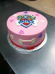 PAW (backhomebakerytx) Tags: kid birthday cake pink paw partol girl