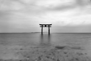 Shirahige shrine gate