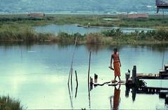 Meditation on the lake - Inle Lake . Yanmar (Burma) (Pietro D'Angelo2012) Tags: buddismo inle lake myanmar monk burma