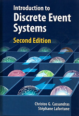 Introduction to discrete event systems. 2 ed. (Biblioteca da Unifei Itabira) Tags: capa livro fevereiro 2018
