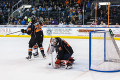 "Kansas City Mavericks vs. Ft. Wayne Komets, March 2, 2018, Silverstein Eye Centers Arena, Independence, Missouri.  Photo: © John Howe / Howe Creative Photography, all rights reserved 2018 • <a style=""font-size:0.8em;"" href=""http://www.flickr.com/photos/134016632@N02/26768688308/"" target=""_blank"">View on Flickr</a>"