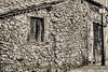 Made of memories (ILO DESIGNS) Tags: arquitectura architecture wall masonry stones fachada piedra monochrome monotone old antiguo time wooden window traditional traditions house village pueblo fineart rural facade street blackandwhite guadarrama d60