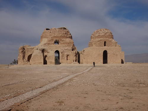 Palacio Sarvestan. Irán.