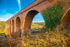 Old Larpool Viaduct standing the test of time. (Geordie_Snapper) Tags: canon1635mm canon5d3 canon2470mm coldday december gaduatedfilters larpoolviaduct northyorkshiremoors riveresk whitby winter