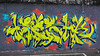 Zeski Zeskowitch (Zesk MF) Tags: graffiti zesk letters style mural bubbles buchstaben color cans mtn brick