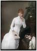 Princess Victoria of Prussia (Eleiney) Tags: princess victoria prussia royalty colorization colorized 1880s victorian