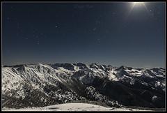 Circo de Brañagallones. (Diego Rai) Tags: brañagallones redes asturias nieve snow canto del oso montañas peaks mountains night noche nocturna moonlight luna moon nightscape