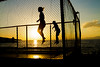 (c) Wolfgang Pfleger-7128 (wolfgangp_vienna) Tags: postira jumping springen kroatien croatia brac islandbrac sunset sonnenuntergang trampolin sport fun gegenlicht sun sonne