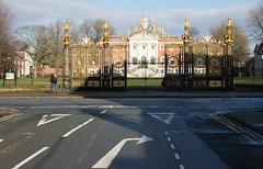 golden gates 02 feb 18 (Shaun the grime lover) Tags: warrington gateway street winter golden gates tonw hall sankey winmarleigh