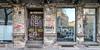 wefro werkzeugtaschen (bilderkombinat berlin) Tags: ⨀2011 berlin facade decay sign mitte bookstore stores storefront fassaden reflection germany deutschland doors windows typo lettering