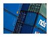 conteneurs (1) (Marie Hacene) Tags: lehavre port conteneur container bleu graphisme