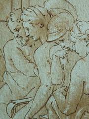 PRIMATICE - Le Banquet d'Alexandre (drawing, dessin, disegno-Louvre INV8569) - Detail 113 (L'art au présent) Tags: dessins disegni drawings people art details détail détails detalles italiandrawings dessinitalien italianpainters peintresitaliens renaissance dessins16e 16thcenturydrawings 16thcentury croquis étude study sketch sketches wash lavis museum france italie italy bollogne francescoprimaticcio leprimatice primaticcio myth mythe mythologie mythology soldier soldiers soldat man men repas meal lunch woman women festin food servant serveur domestique alexander table portraits portrait statue statues