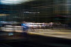 Crossing (Darryl Scot-Walker) Tags: fujifilmx100t london crossing pedestriancrossing urbanlife urbanabstract abstractstreet londonstreetphotographers streetphotography londonstreets canarywharf docklands traffic futurism motion blur ndfilter