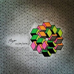 Perspective Isometric Art (tiago_hands) Tags: isometricdrawing isometricdesign isometricart isometricmath isometric impossibleart isometricconstruction geometry geometrydrawing geometrydesign geometryart geometrical geometricart geometricdrawing geometricdesign geometricaldesign geometricaldrawing geometricalart mathart mathematics mathematicsart
