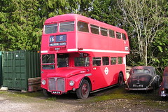 Former London Transport Routemaster ALM 37B (in preservation) (KK70088) Tags: bus britishbuses servicebus londonbus aecroutemaster parkroyal alm37b