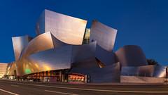 Walt Disney Concert Hall (RyanLunaPhotography) Tags: disney hall concert los angeles music city blue hour canon 2470