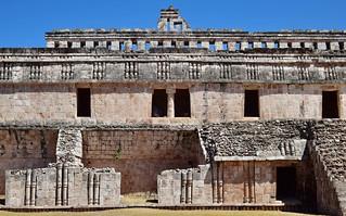 Palatial facade, Kabah