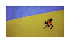 Jogger (Panafloma) Tags: 2018 bateau caraïbes catégorieprojet costamagica couleurs croisièrecosta famille géographie nadine nadinebauduin natureetpaysages personnes transports vacances voyage végétaux bleu couleur croisière géométrie jaune jogger paquebot pontdebateau sportif france fr