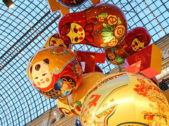 Chinese New Year 2018 celebrating at GUM, Moscow (Aram Bagdasaryan) Tags: newyear 2018 chinese decoration indoor balloon matreshka ceiling moscow russia balls gum гум sigmaaf24105mmf4dgoshsmart