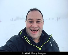 Photo accepted by Stockimo (vanya.bovajo) Tags: stockimo iphonegraphy iphone man portrait young adult snow snowy winter happy happiness selfie male caucasian beautiful one person people