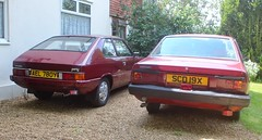 AEL 780Y & SCD 19X (Nivek.Old.Gold) Tags: 1982 datsun sunny 1500 auto 4door hyundai pony 1400 3door