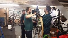 Are you sayin' ma bikes is overweight> (Dan K ™) Tags: transportfiets workbike cycling dutchstyle cortina london walthamstowcycles cortinafietsen opafiets dutchbike