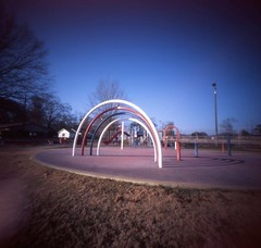 Play ground (surgeon24hrs) Tags: pinhole pinholecamera pinholephotography square squareformat mediumformat film filmphotography filmisnotdead filmcamera vignette lofi lofiphotography analog analogphotography playground handmade handmadecamera handmadepinholecamera lightleak