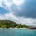 Strand auf der Insel Felicite, Seychellen