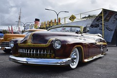 Blood Drive Car Show 2018 (USautos98) Tags: 1950 mercury fatboy leadsled convertible traditionalhotrod streetrod kustom